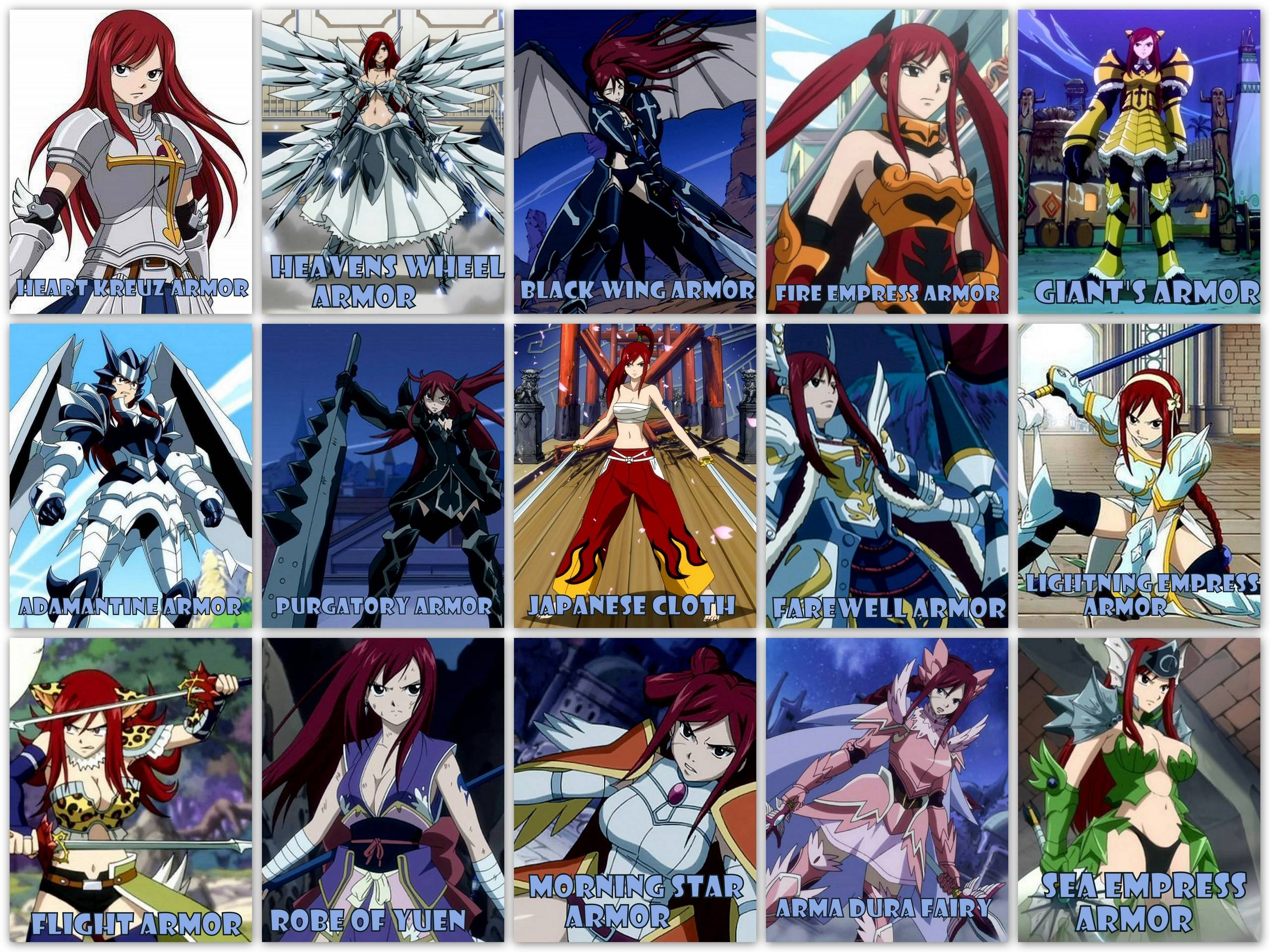 Fairy Tail Erza Wallpapers Wallpaper Cave