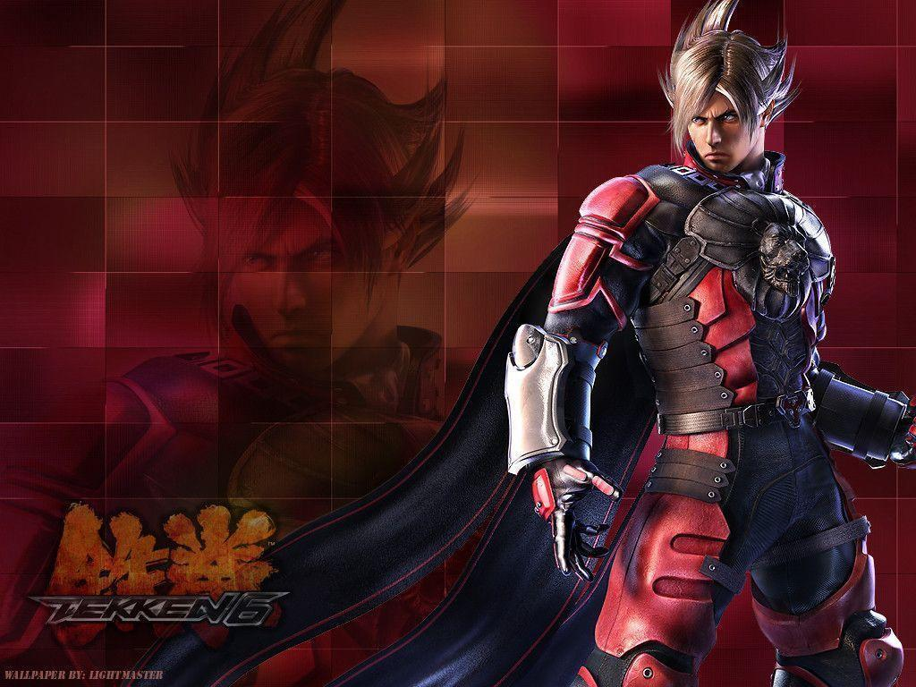 DeviantArt: More Like Tekken 6 wallpaper Lars yellow by nin-
