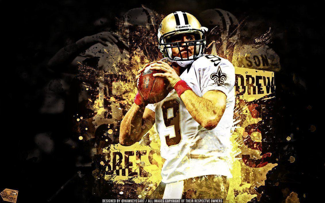 Cool Nfl Player Edits: Drew Brees Wallpapers