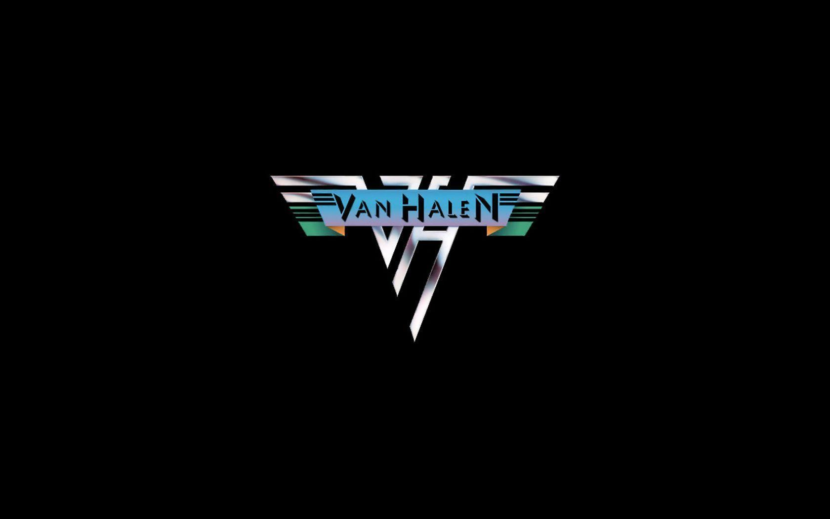 Van Halen Silver Logo HD Wallpapers