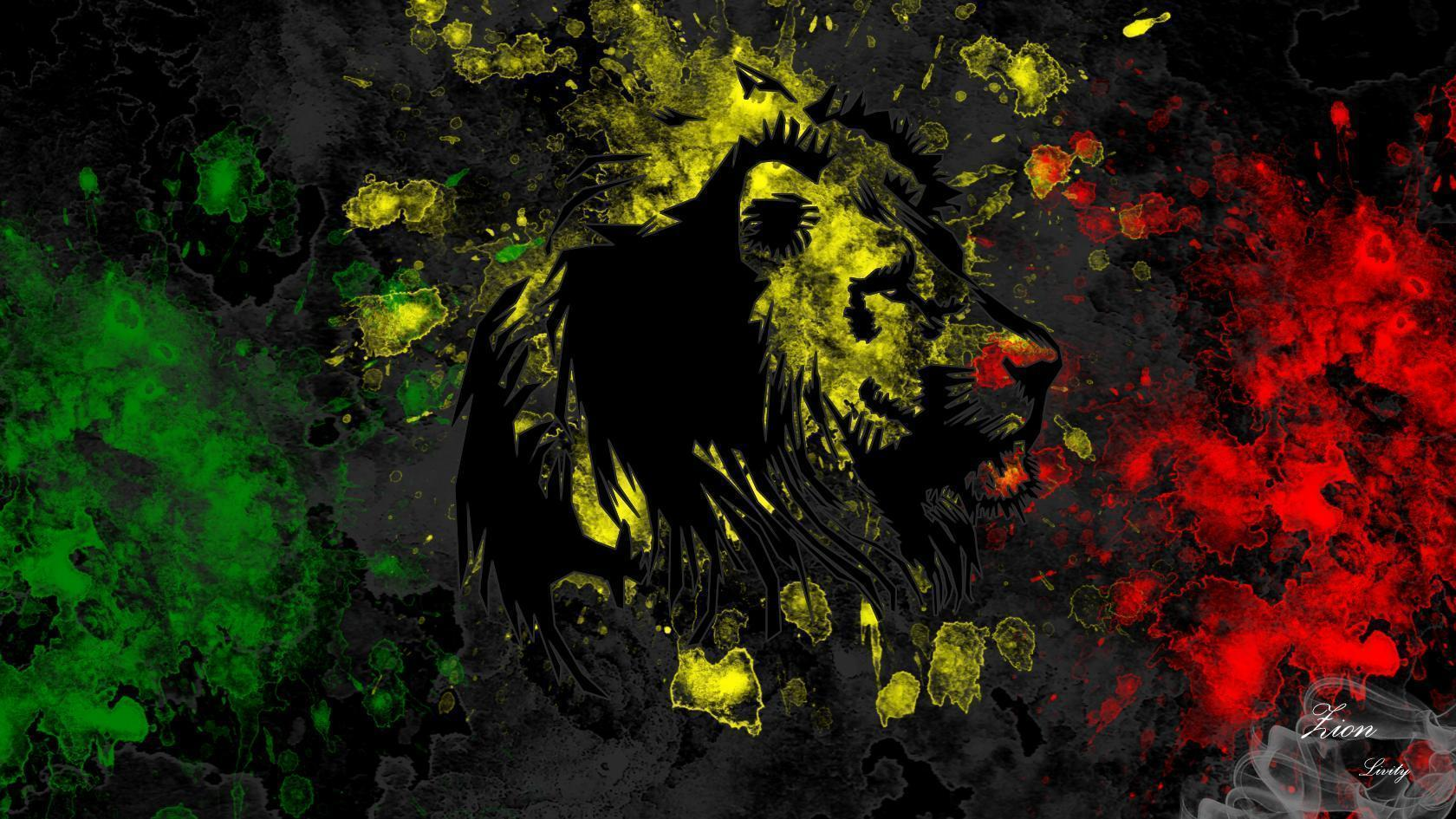 DeviantArt: More Like Reggae lion wallpapers by ZIONLivity