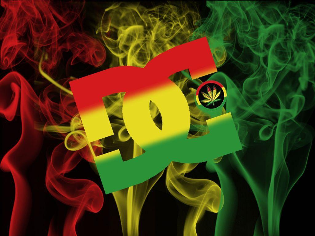 Wallpaper iphone rasta - Dc Shoes Rasta Logo Hd Wallpaper Picture For P 5962 Wallpaper
