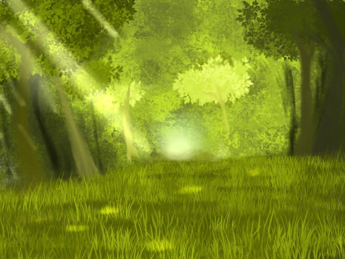 Anime Forest Backgrounds Wallpaper Cave