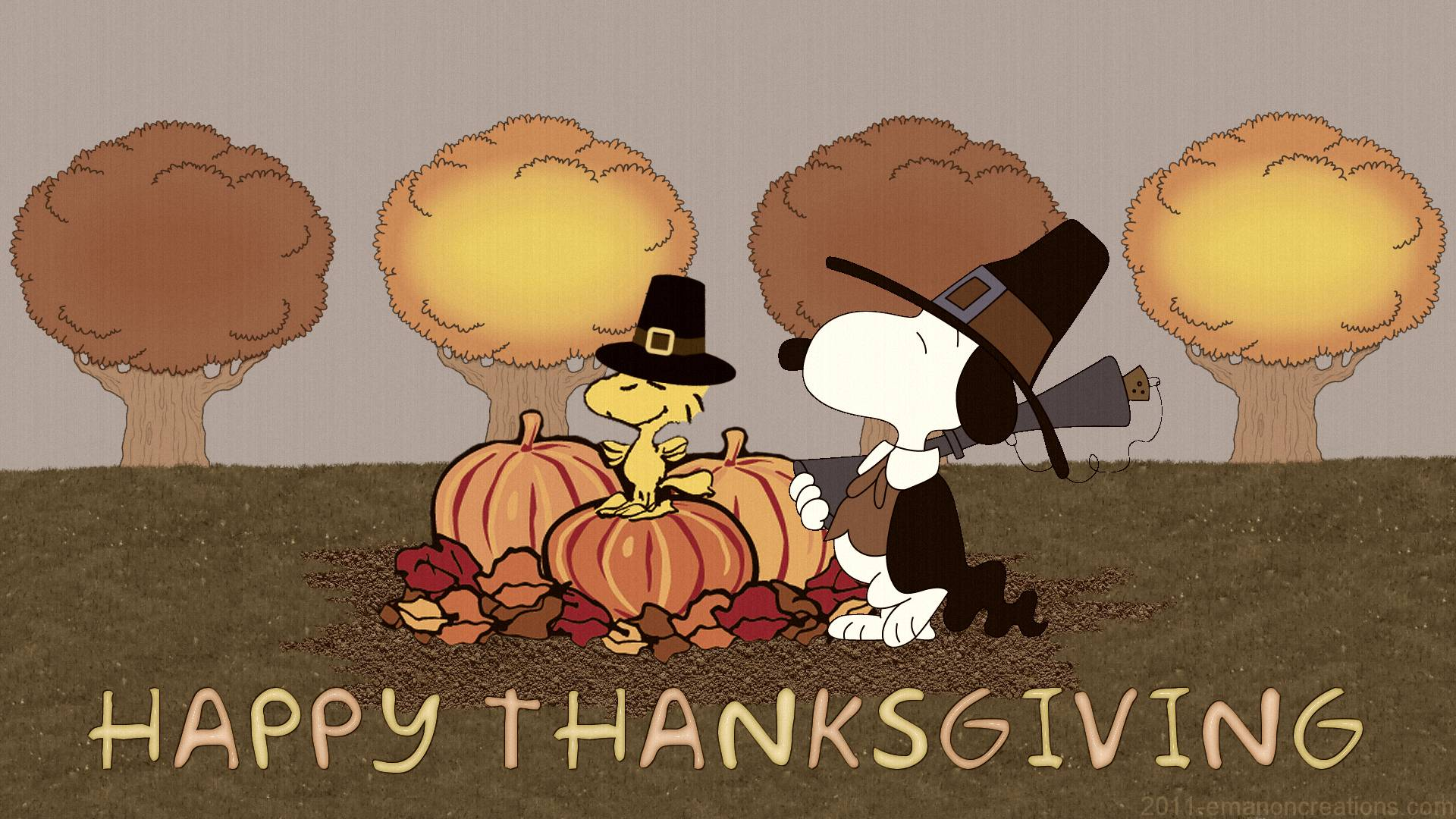 Thanksgiving Snoopy Wallpapers  Wallpaper Cave