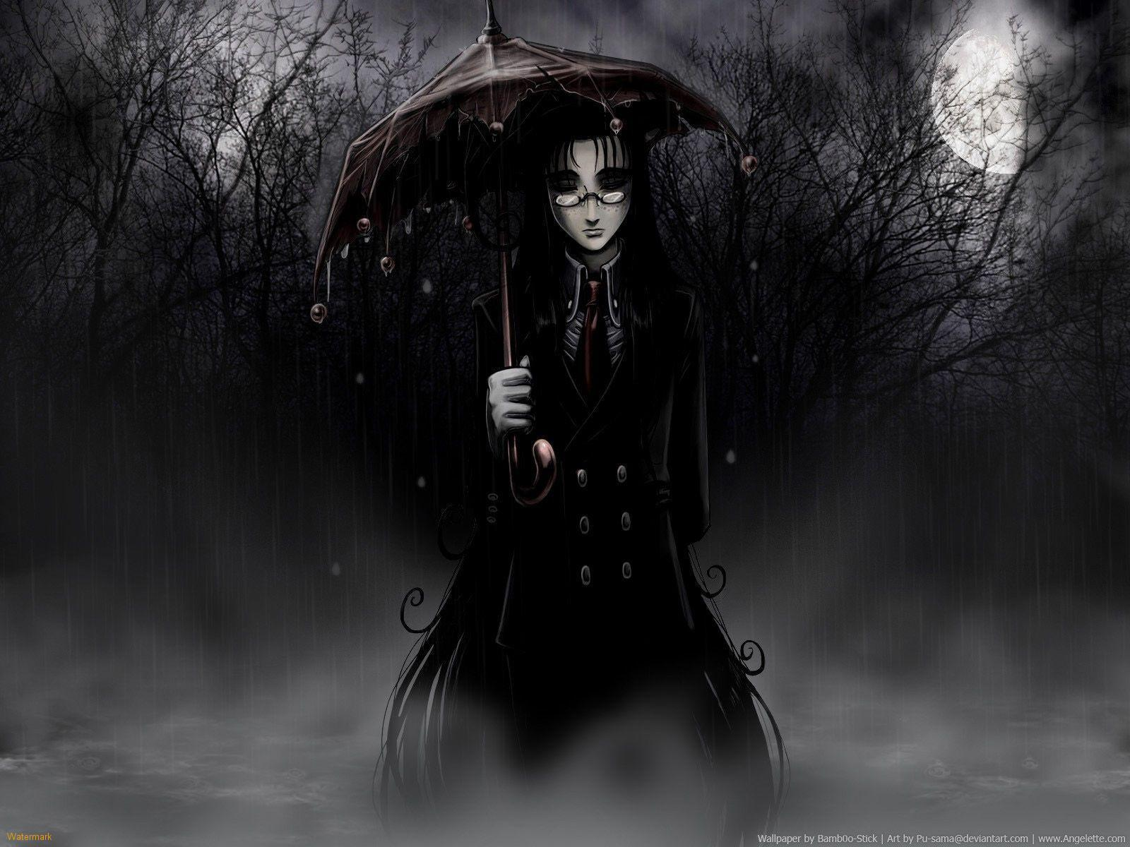 Dark gothic wallpapers wallpaper cave - Dark anime background ...