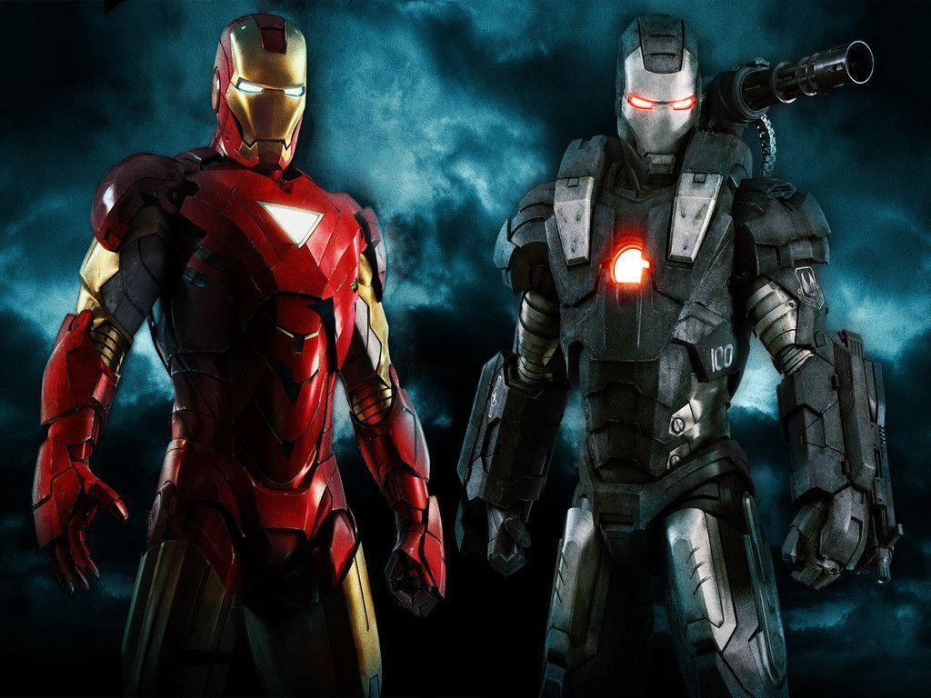War Machine With Iron Man Wallpapers 768 High Resolution
