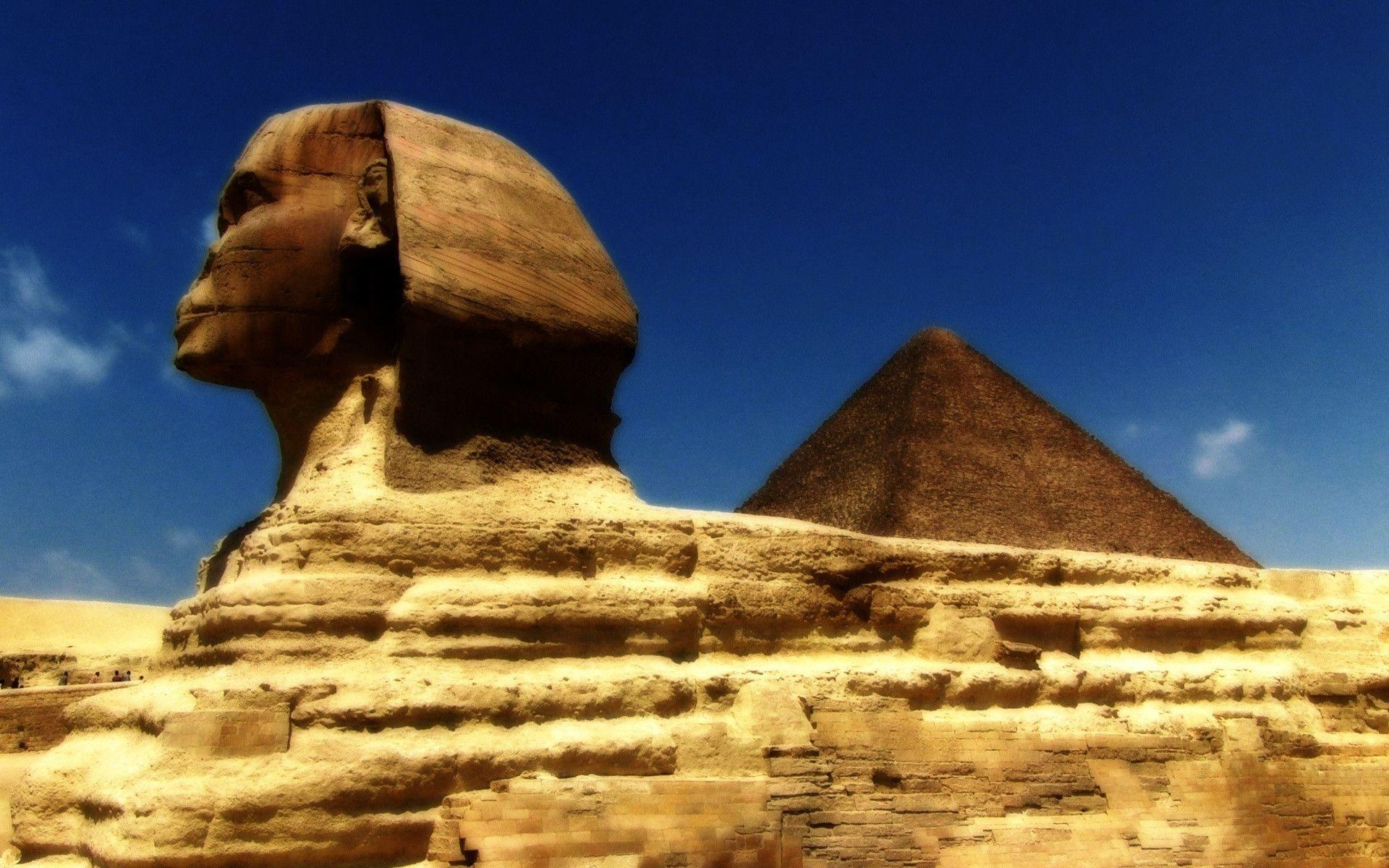 Great Sphinx in Giza Egypt Free Stock Photo and Wallpapers