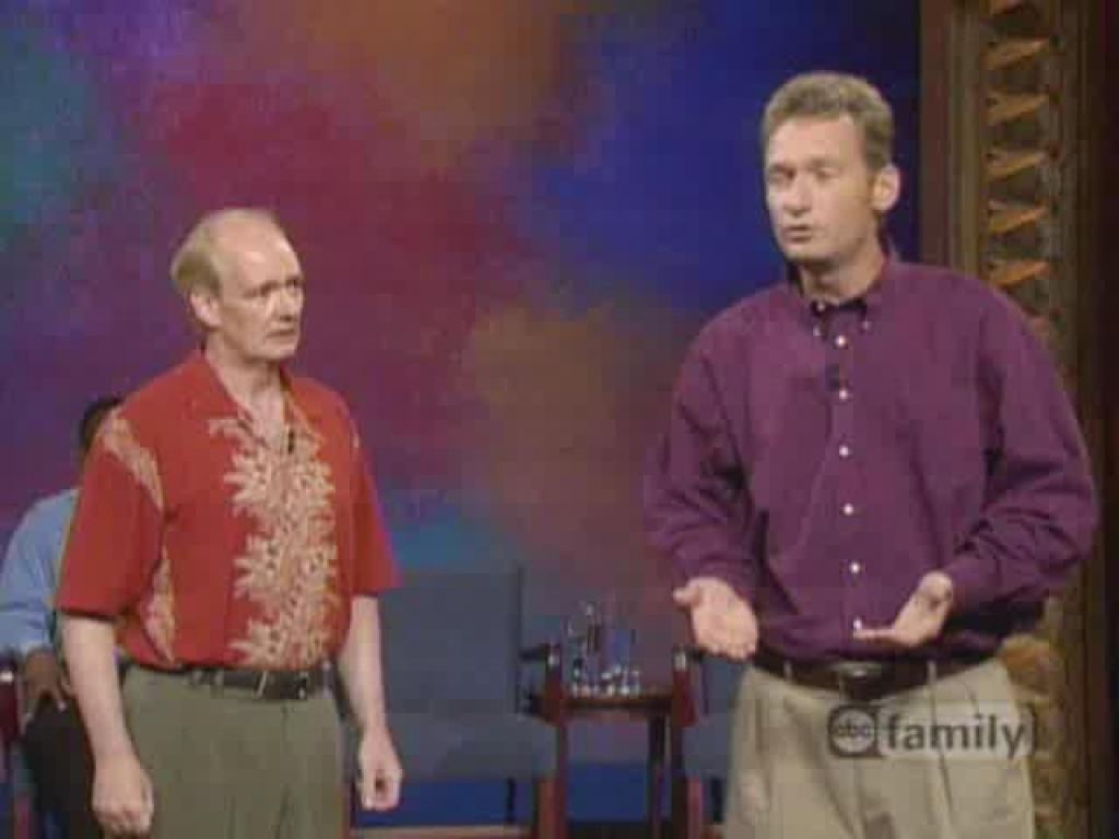 Whose line is it anyway hookup game 2018