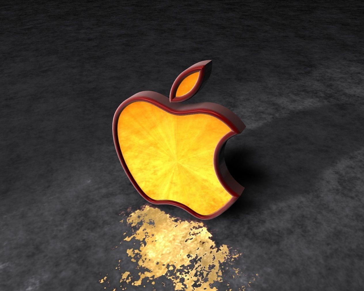Apple 3D Wallpapers - Wallpaper Cave