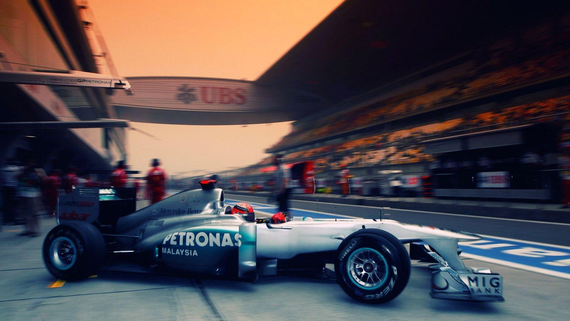 Formula 1 Mercedes Car Wallpaper