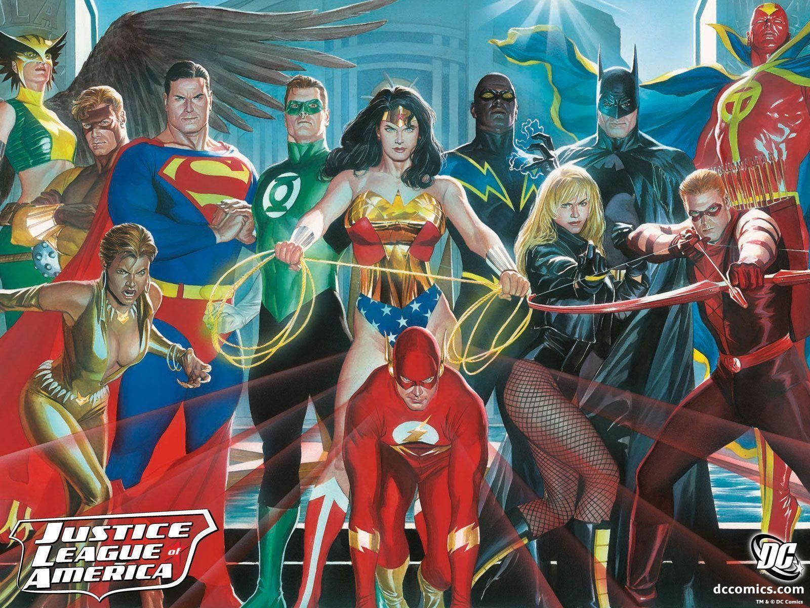 Cartoon Excellence – Justice League