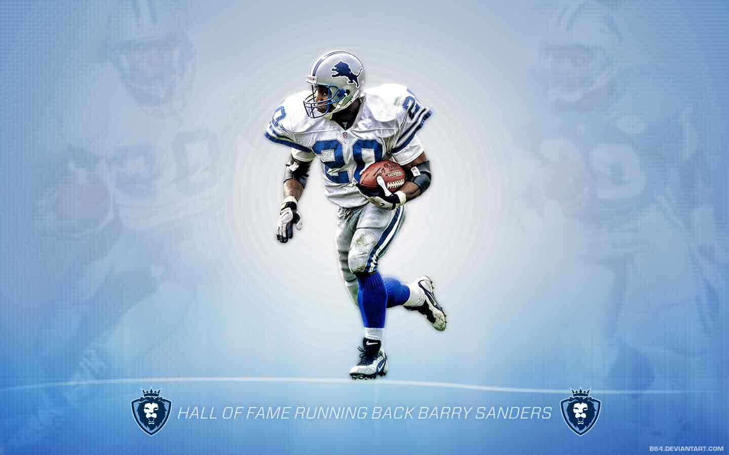 Barry Sanders Wallpaper 10086 HD Wallpapers