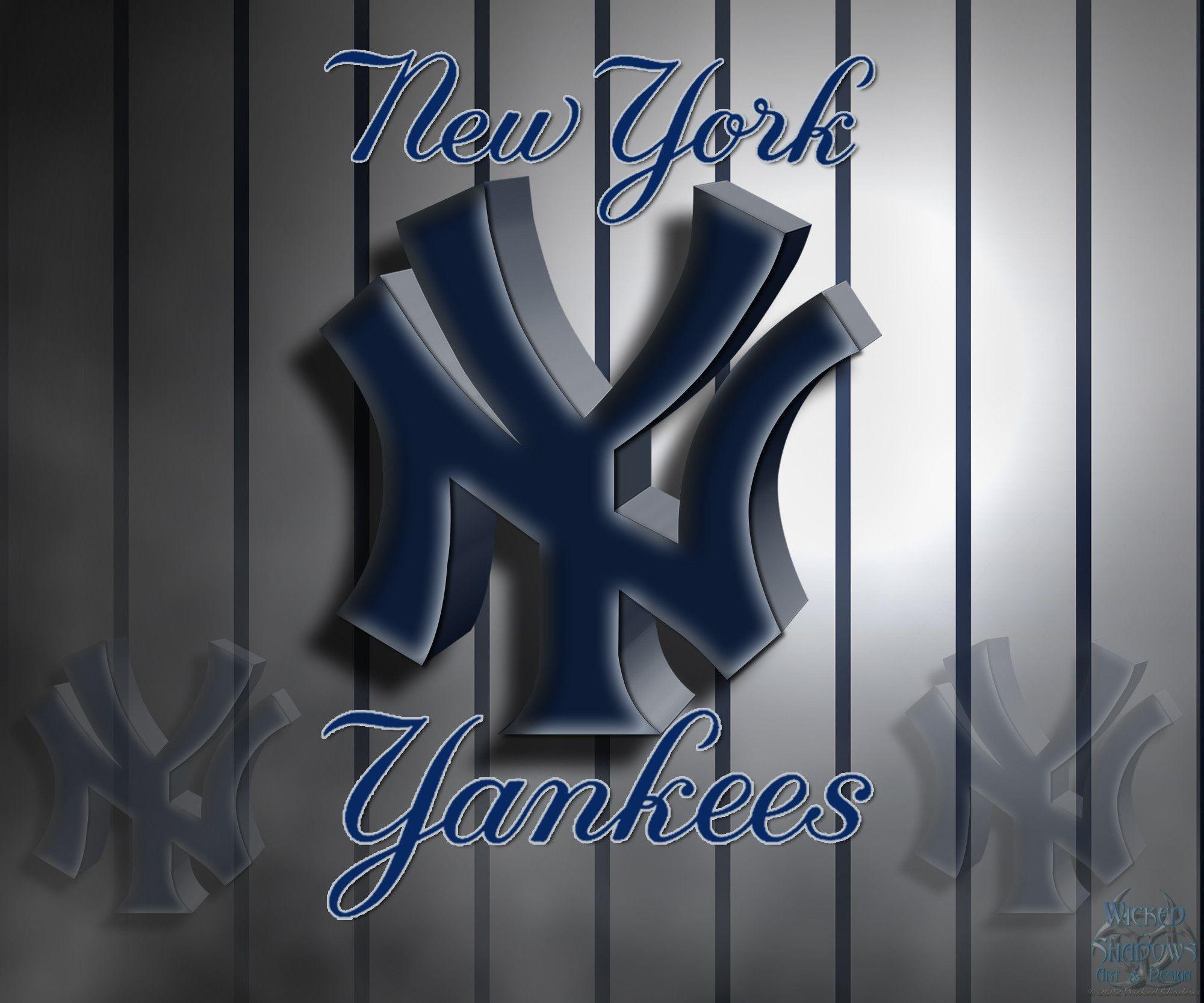 ny yankees logo wallpapers wallpaper cave