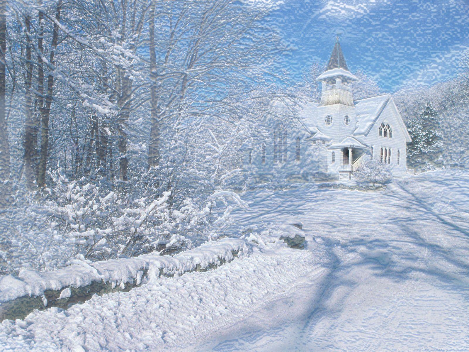 Free Desktop Wallpapers Winter Scenes