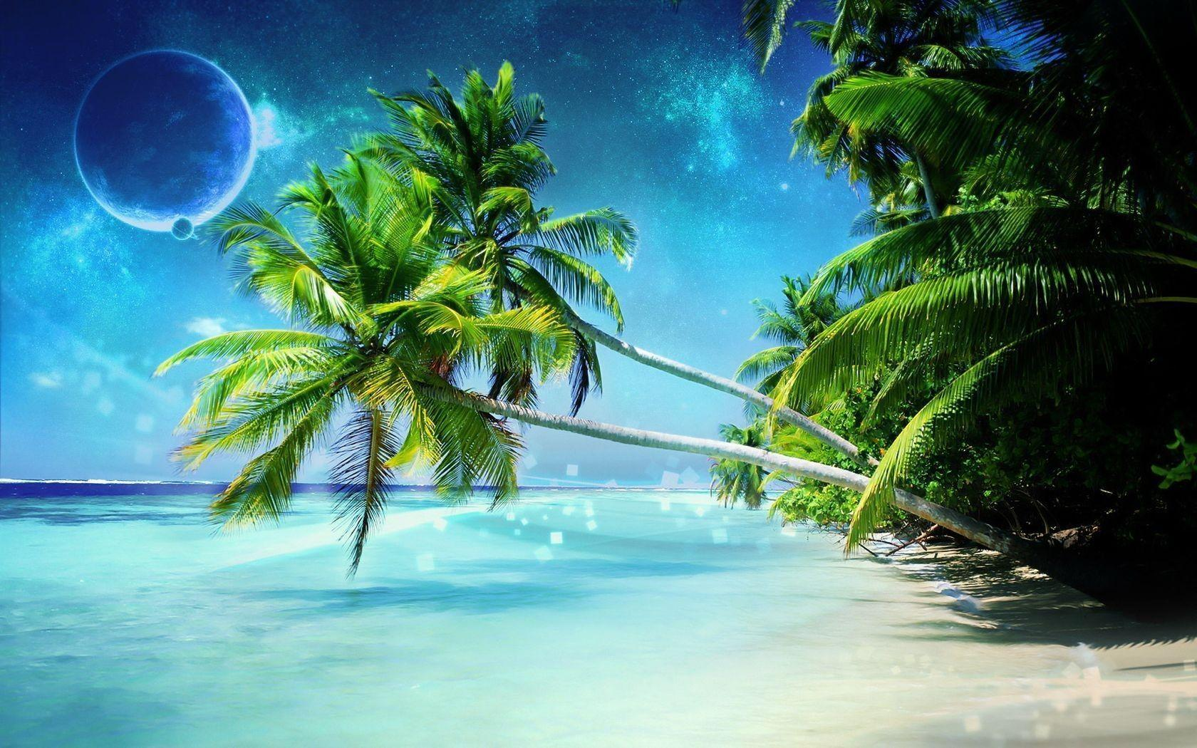Images For > Tropical Beach Desktop Backgrounds