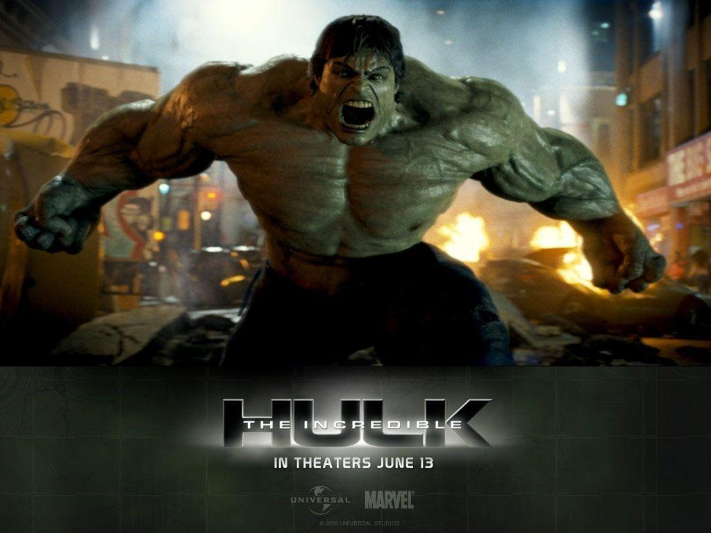 The Incredible Hulk Wallpaper (1024 x 768 Pixels)