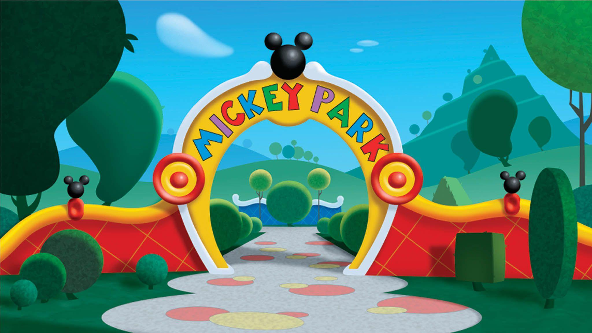 Mickey mouse backgrounds wallpaper cave - Youtube casa mickey mouse ...