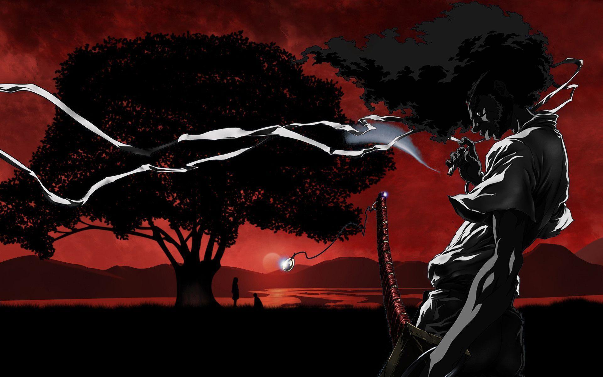Afro Samurai Wallpaper 1920x1080 Free Download