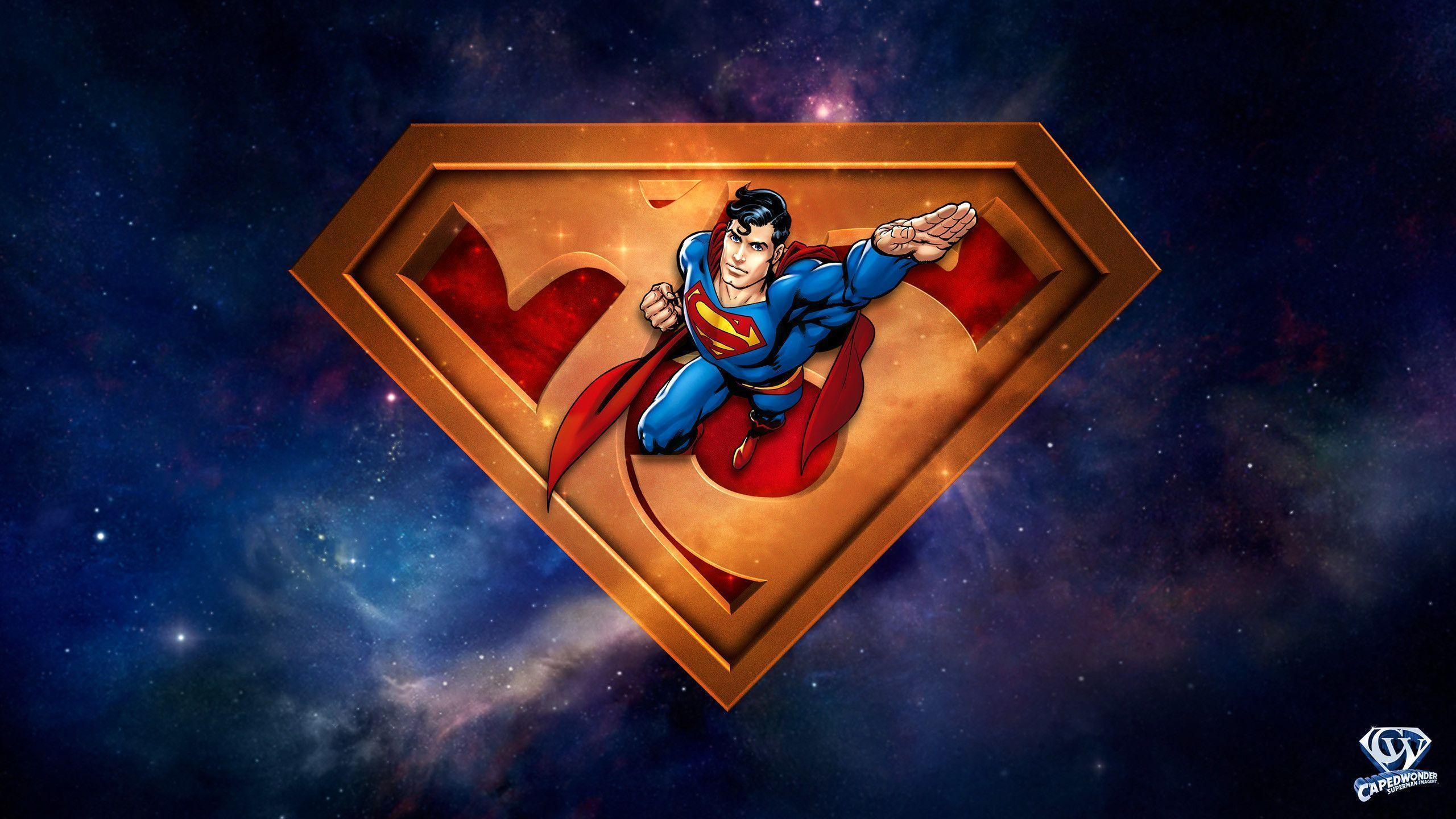 Superman 75th Anniversary Wallpaper | CapedWonder Superman Imagery ...