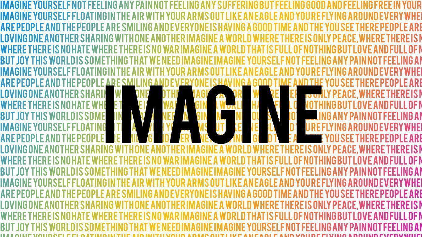 A view on the song imagine and the world peace