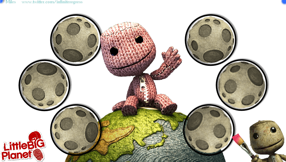 LittleBigPlanet Vita Sackboy &Wallpapers PS Vita