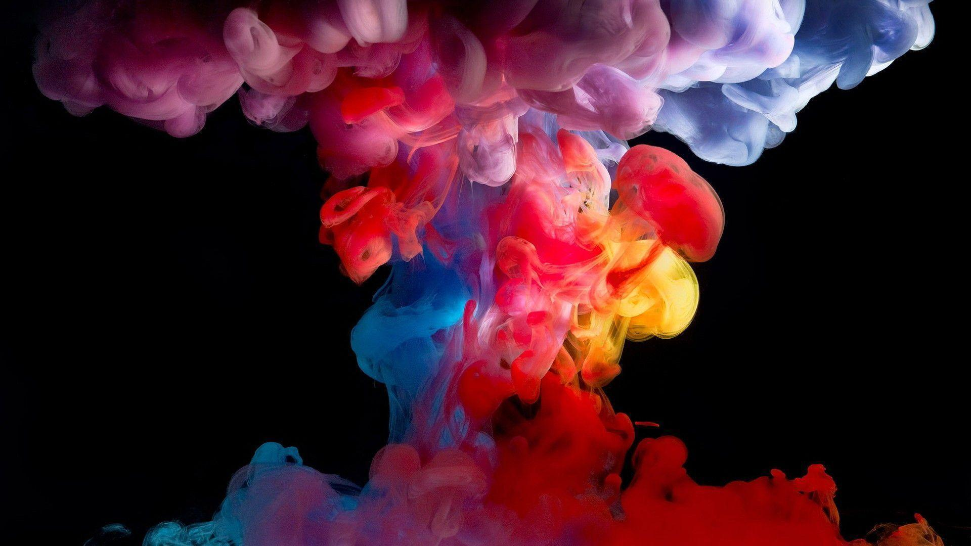 Sensational Colored Smoke Wallpapers Wallpaper Cave Interior Design Ideas Inamawefileorg