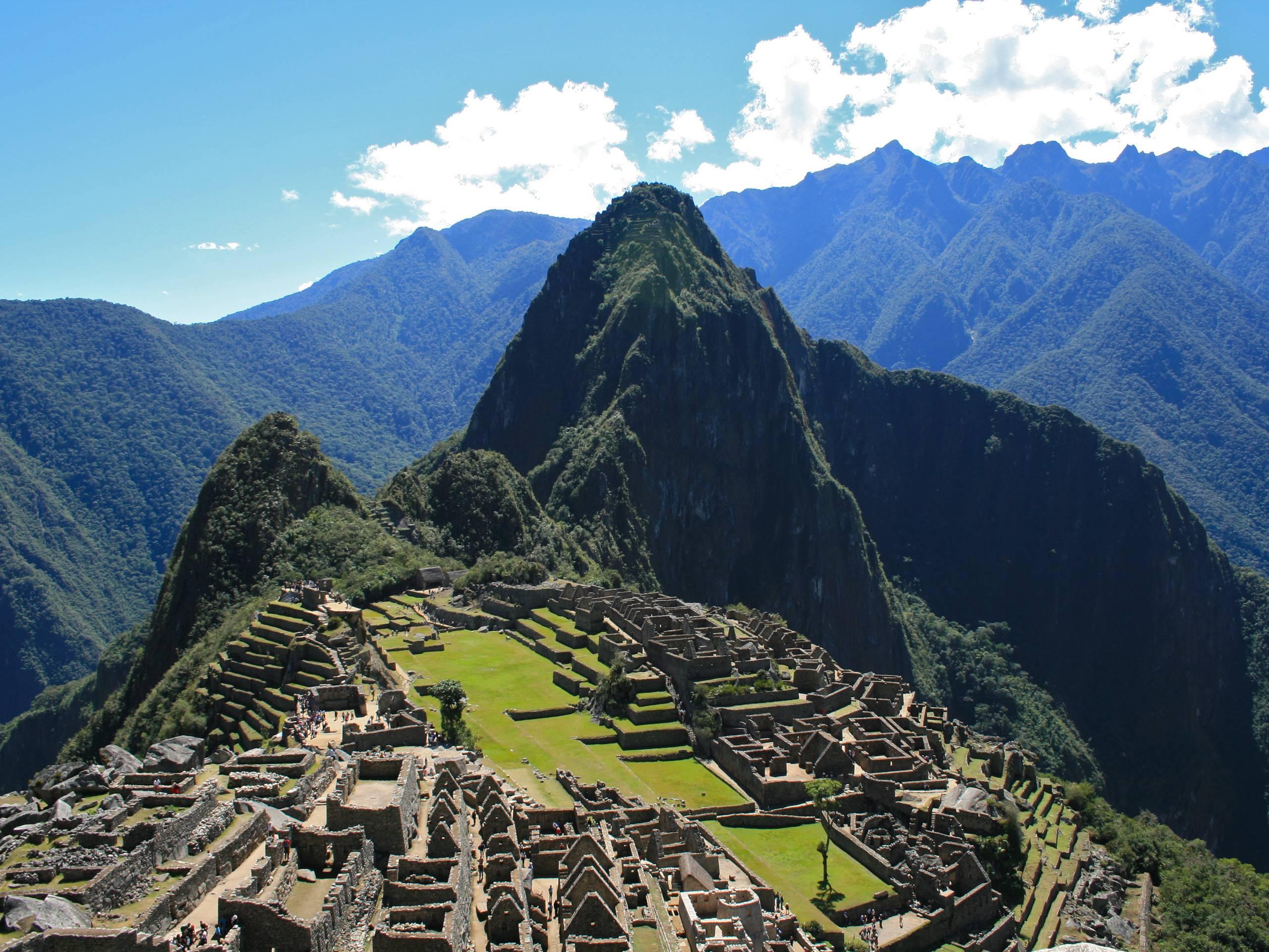 Wallpaper Machu Picchu Full Hd