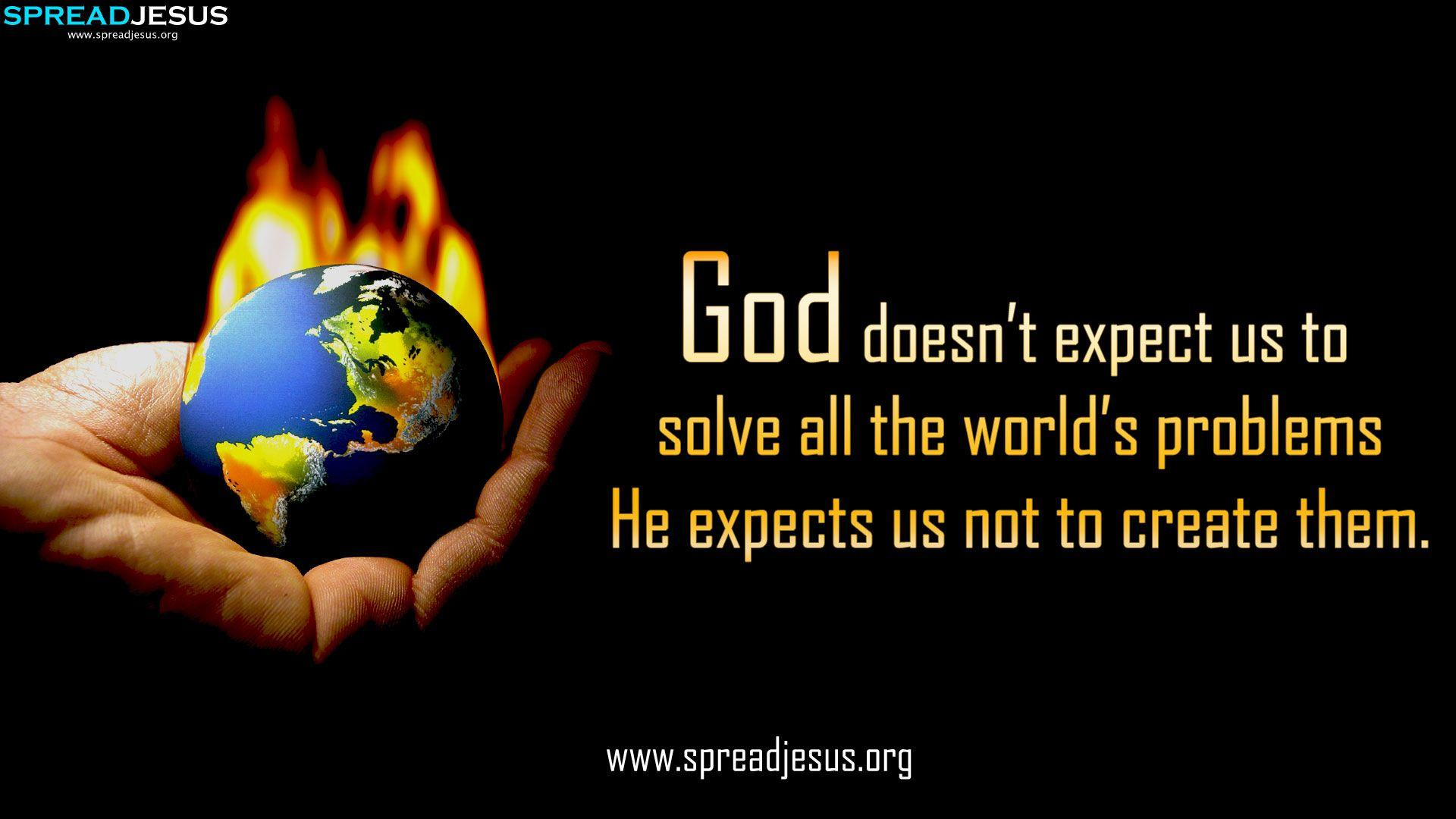Christian Quotes HD-Wallpaper Download God doesn't expect us