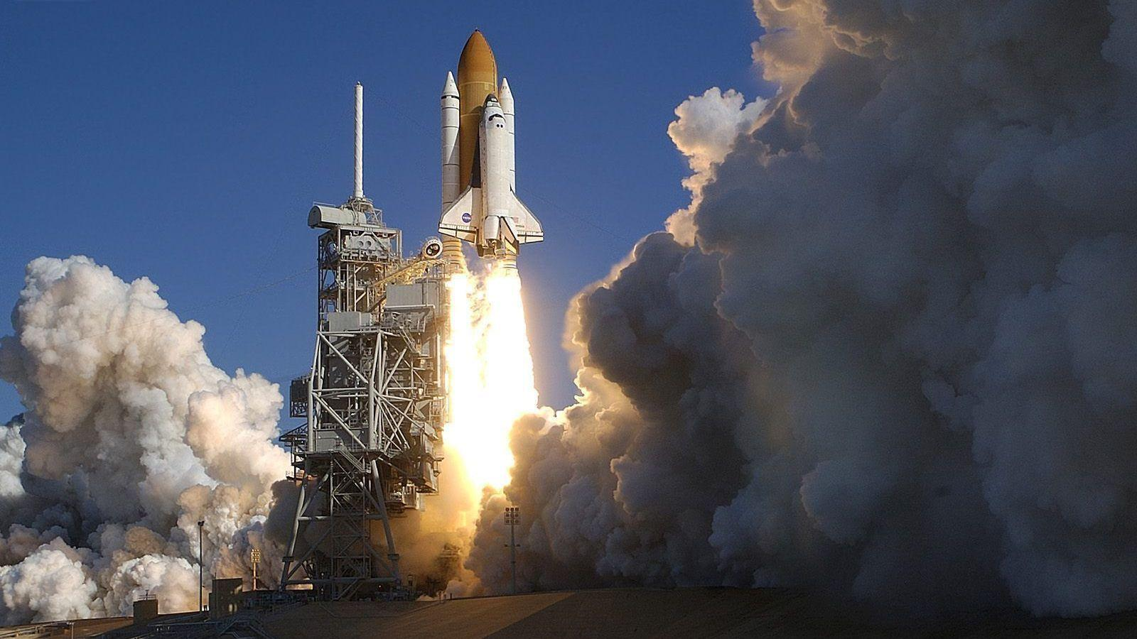 Space Shuttle Columbia Launched in 2003