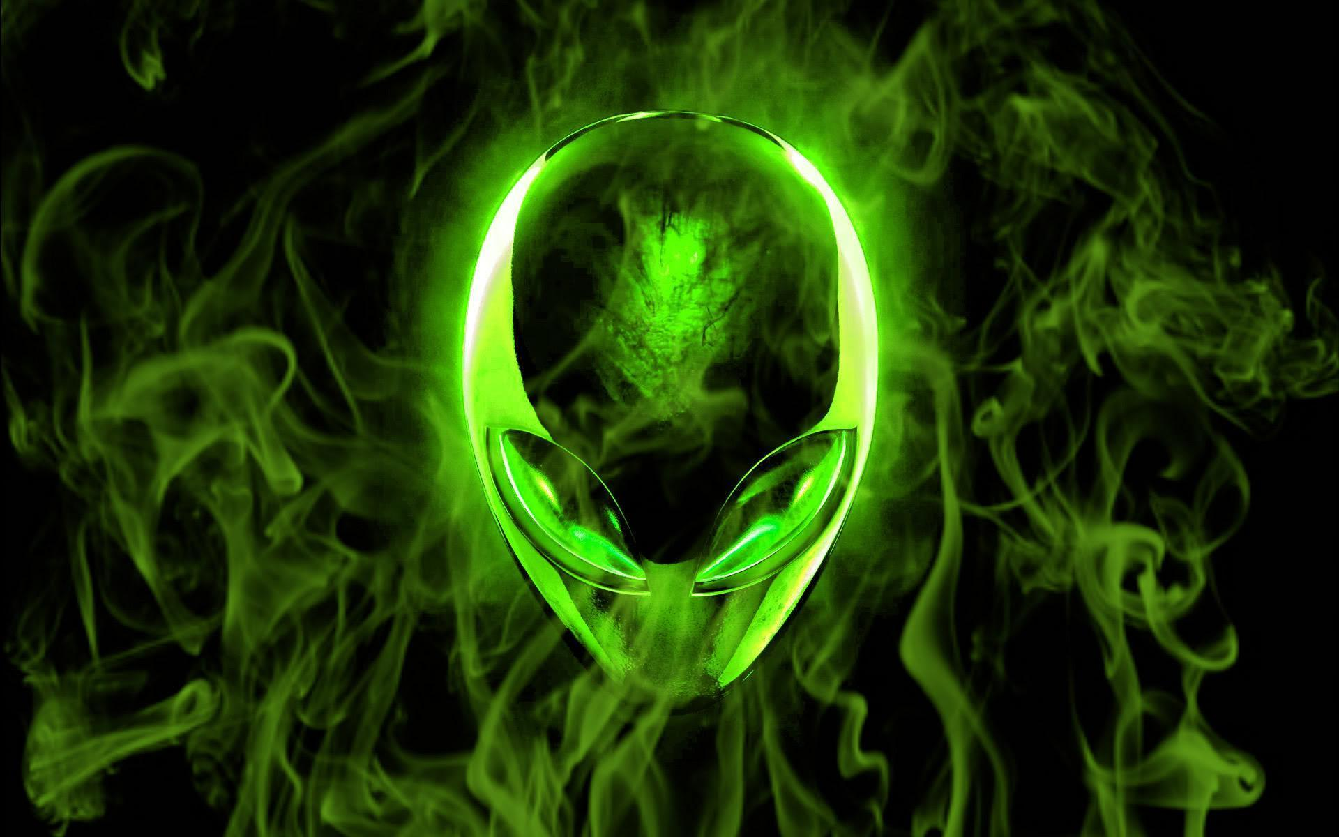 alienware wallpaper green hd - photo #7