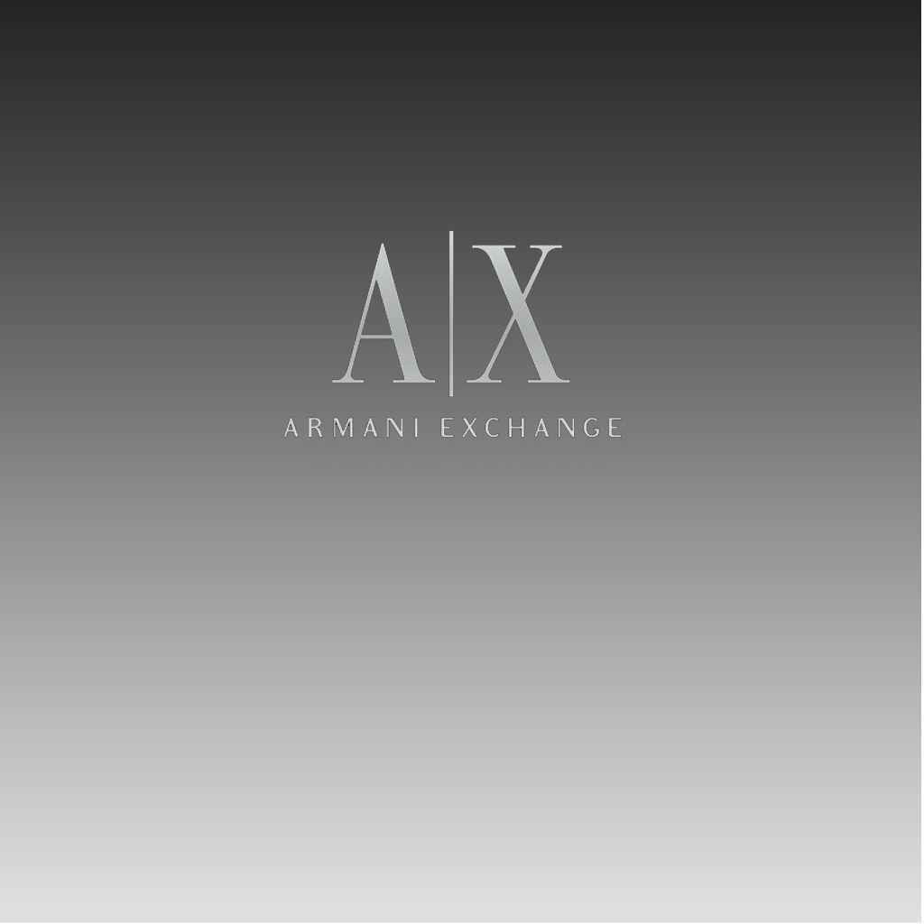 armani exchange graphics and comments