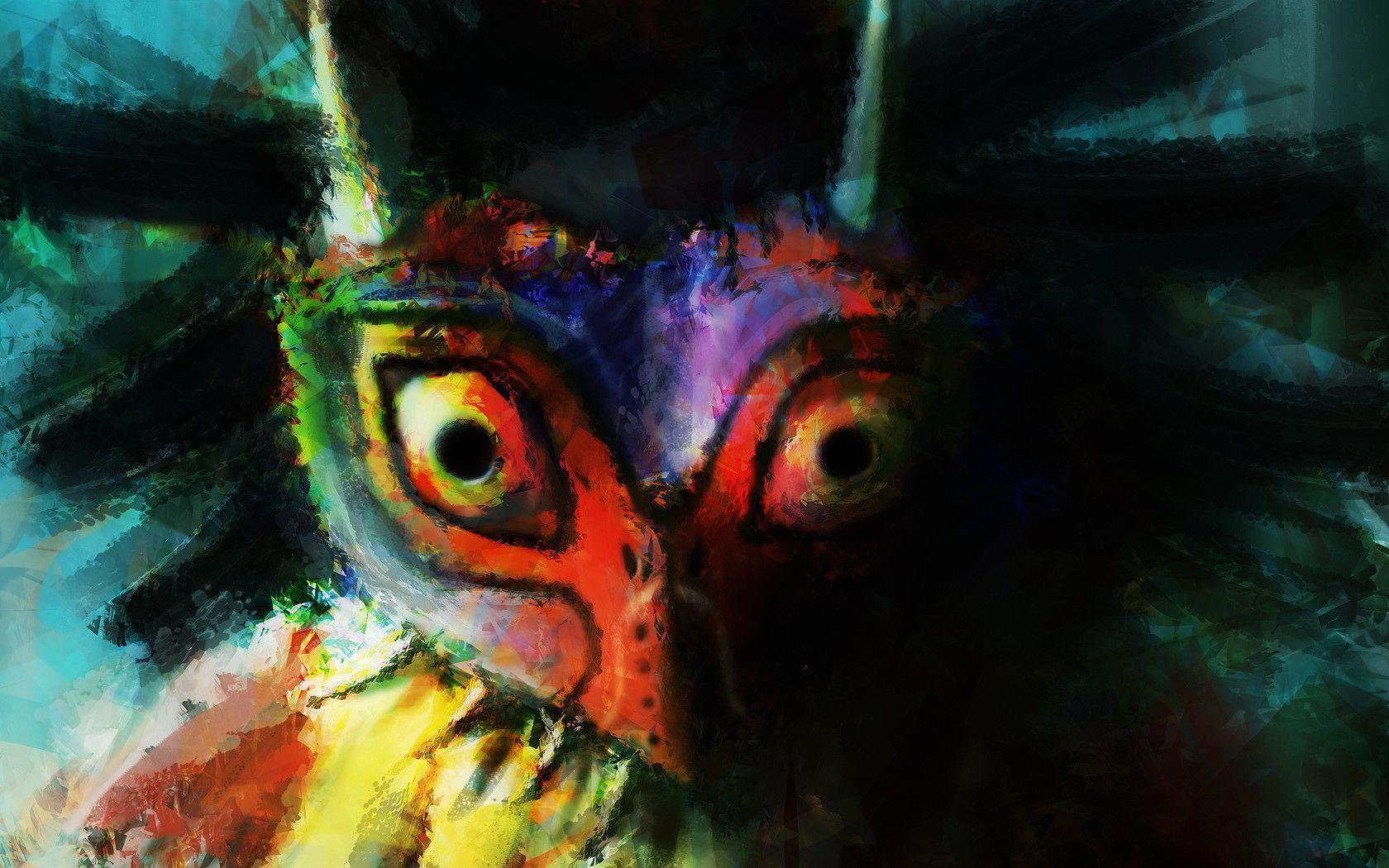 Majoras Mask Wallpapers - Wallpaper Cave