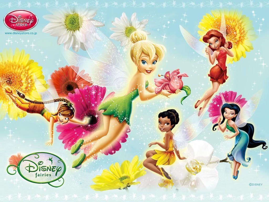 Disney fairies wallpapers wallpaper cave disney fairies wallpapers group thecheapjerseys Images