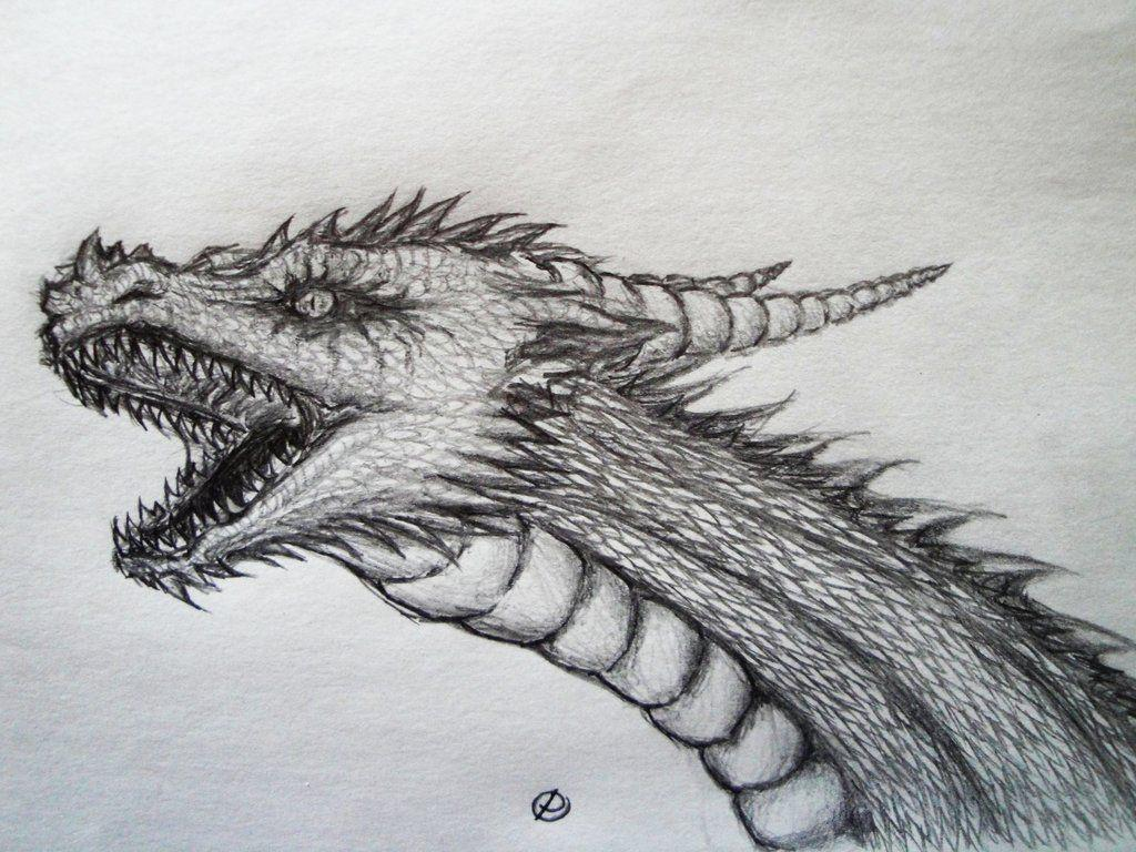 some dragon head by pluto
