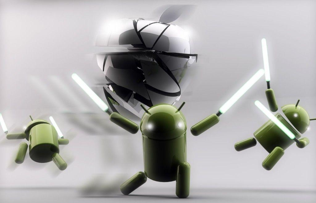 Apple Vs Android Wallpapers