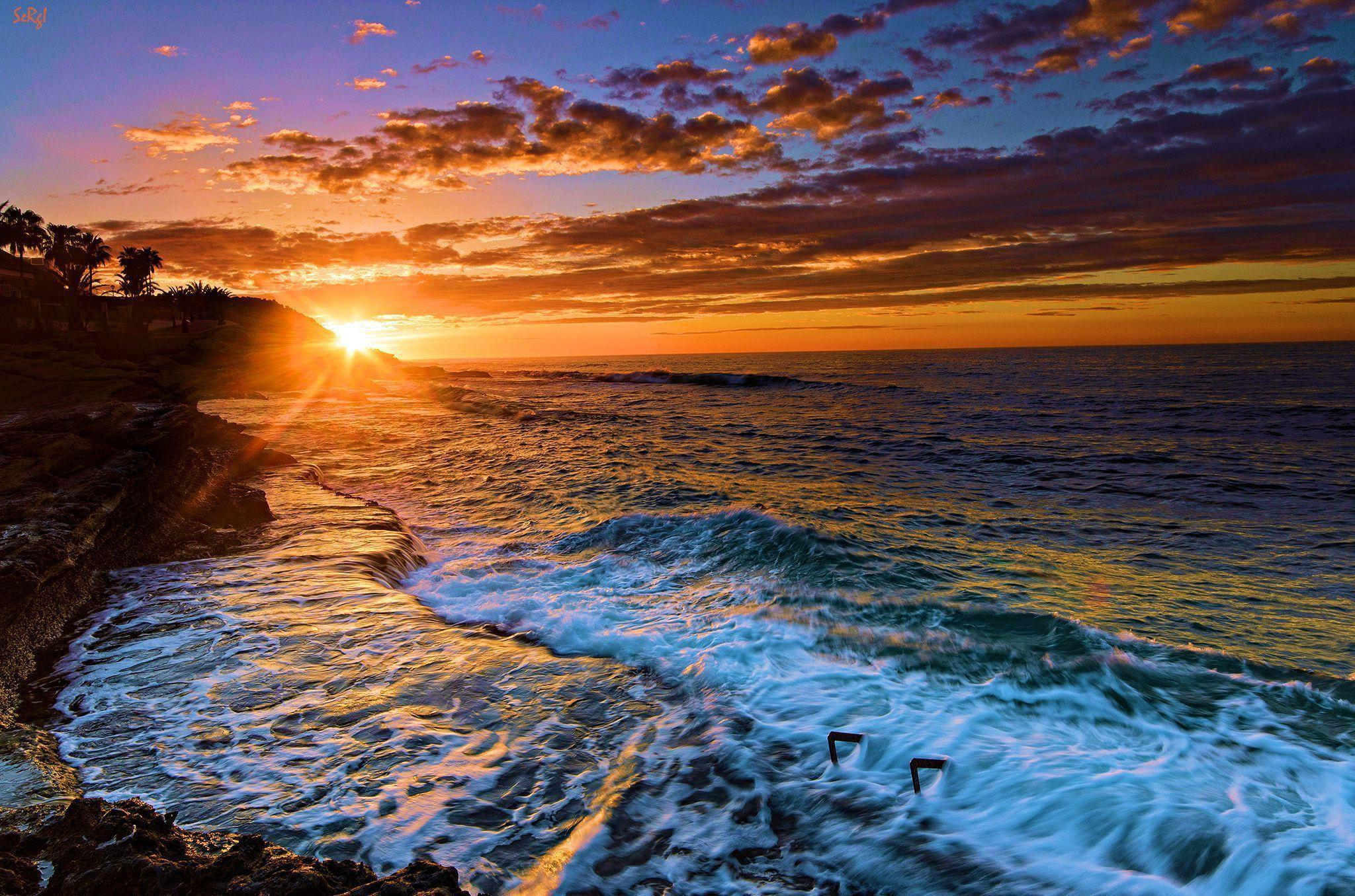 Beach pictures for desktop backgrounds wallpaper cave - Hp screensaver ...