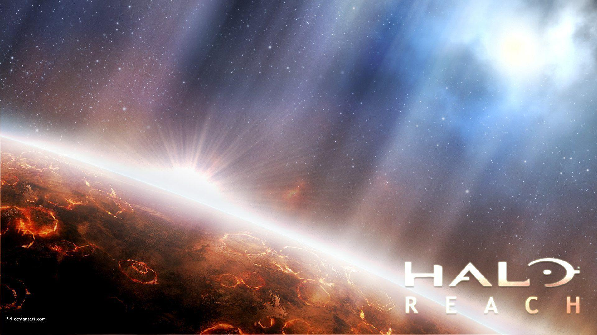 P Halo Ring Wallpaper