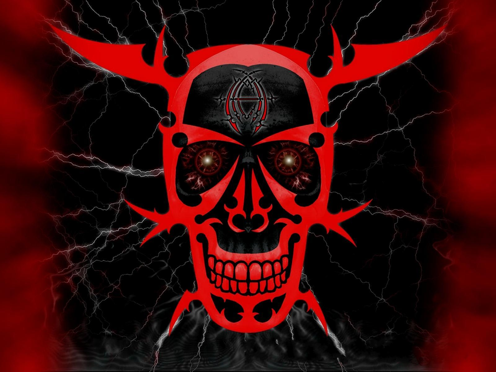 demon skull wallpaper - photo #24