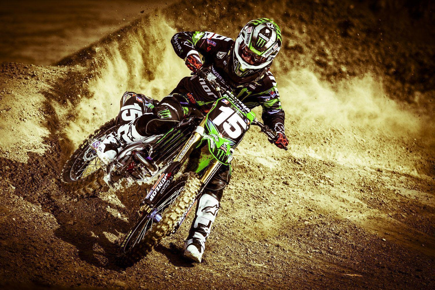 Monster Energy Motocross Wallpaper 17906 Full HD Desktop