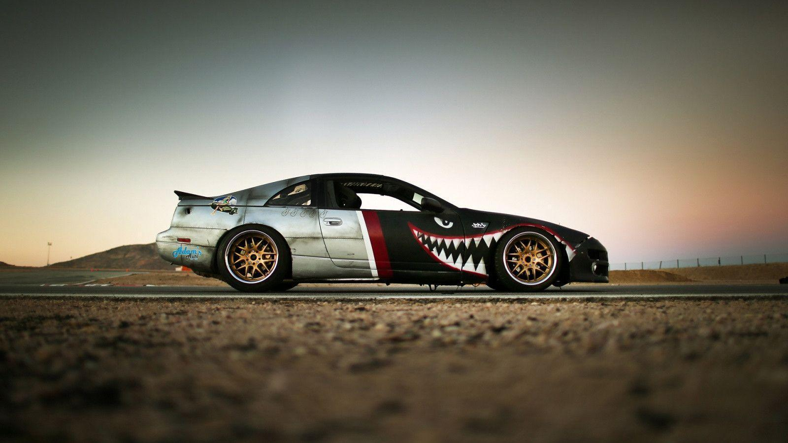 1600x900 Nissan 300z z32 drift car Wallpaper