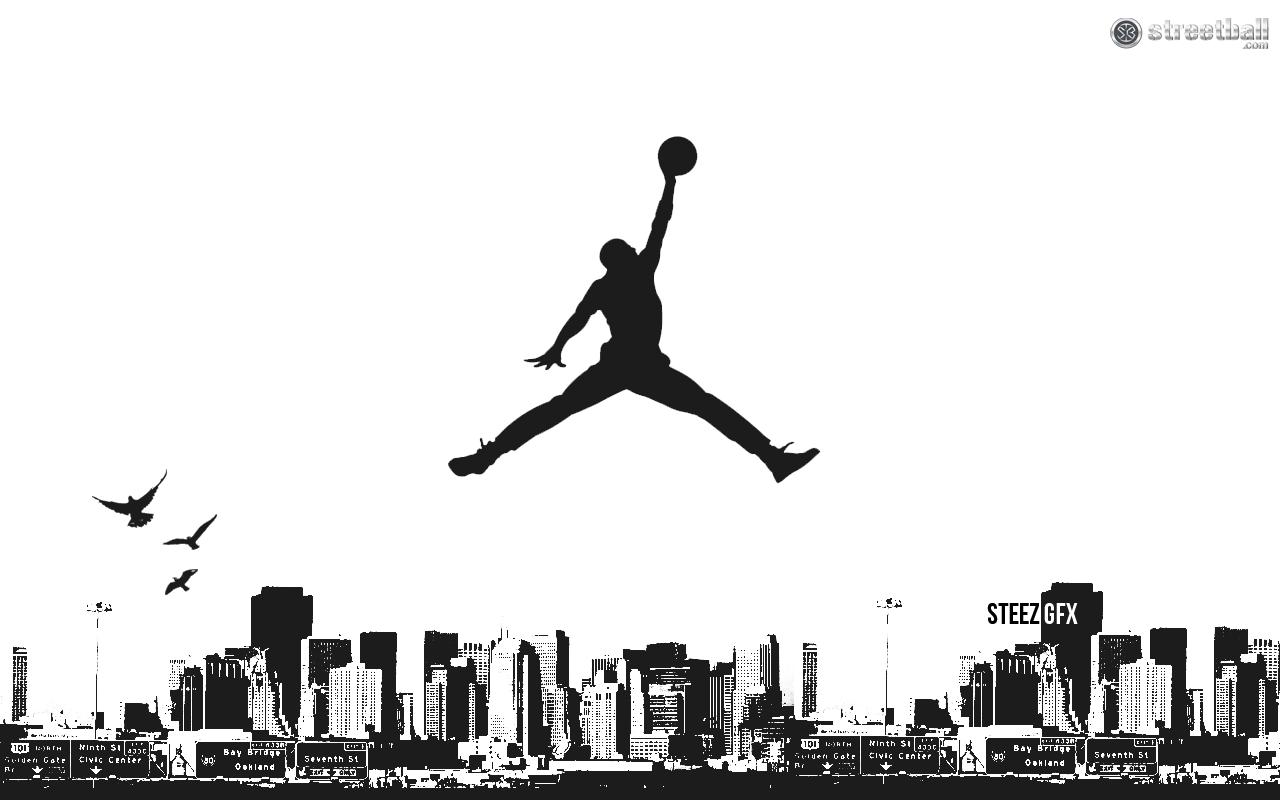 Jumpman Bay Area Jordan Wallpaper