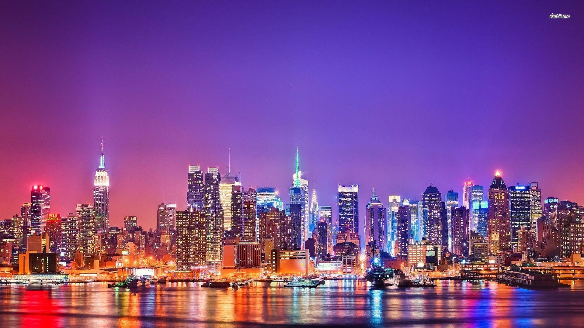 New york skyline wallpapers wallpaper cave for Immagini new york hd