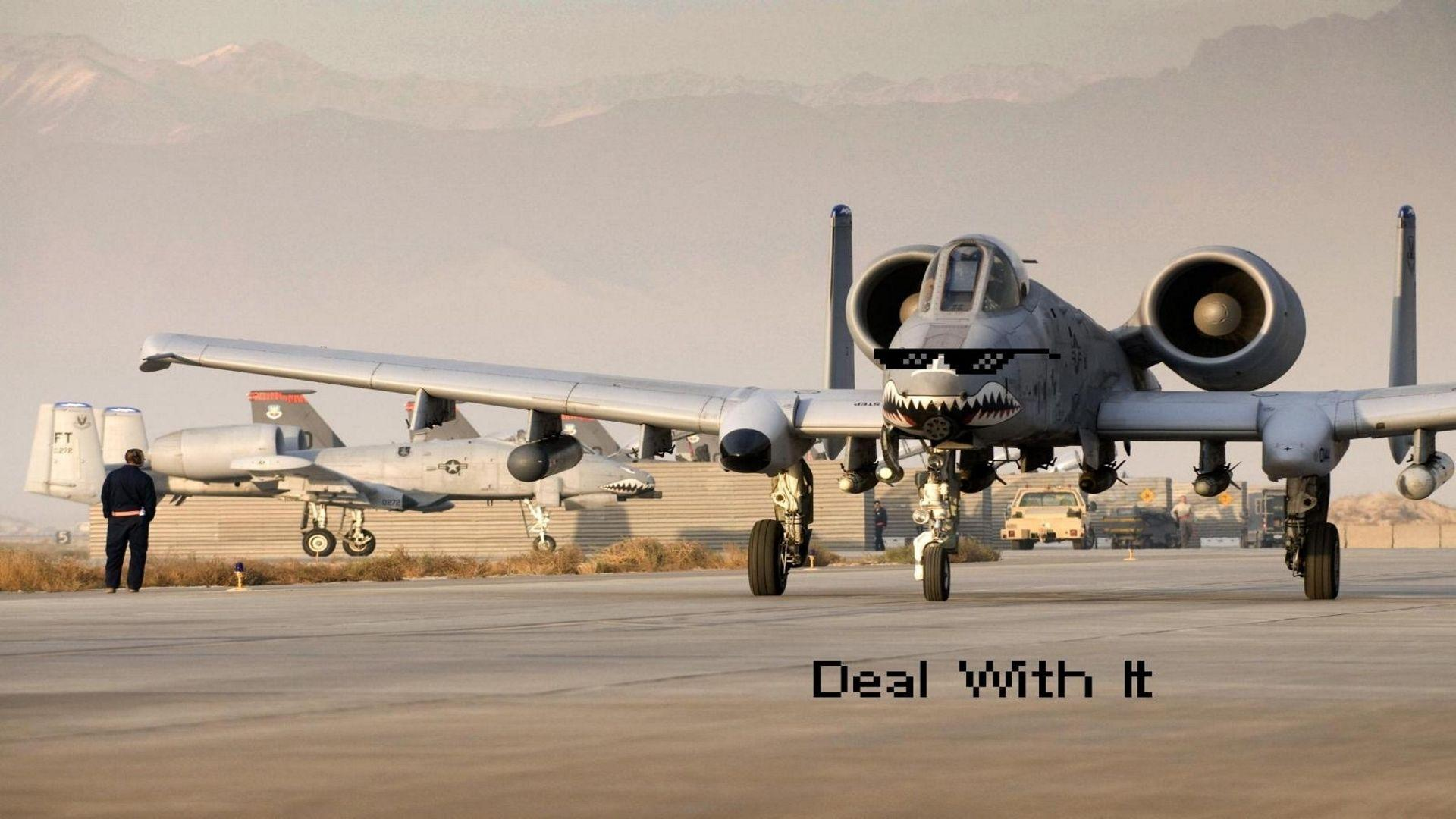 Fairchild Republic A-10 Thunderbolt II Wallpapers - Wallpaper Cave