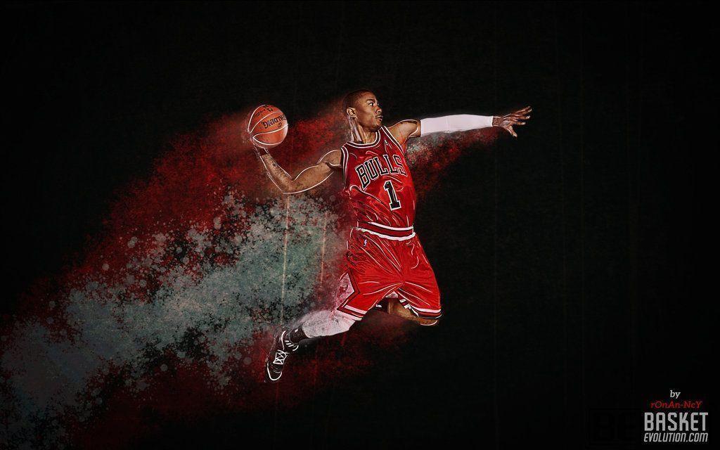 Derick rose wallpapers wallpaper cave - Derrick rose cool wallpaper ...