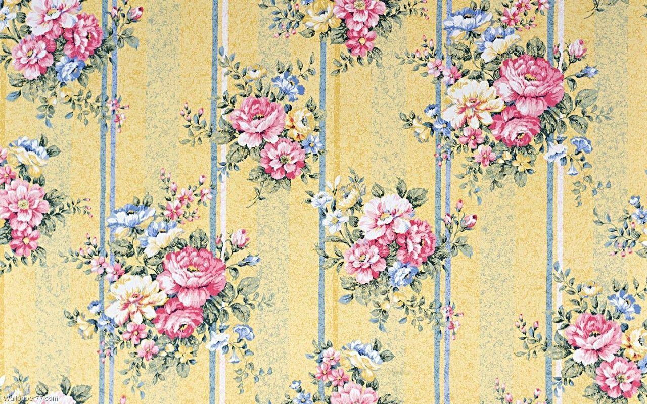 Pattern Flower Yellow, 1280x800 pixels : Wallpapers tagged ...