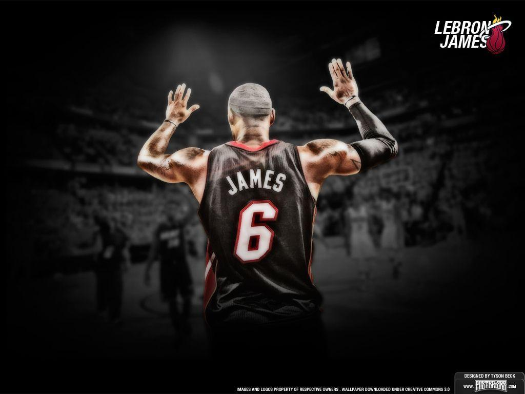 lebron james wallpapers hd heat - wallpaper cave
