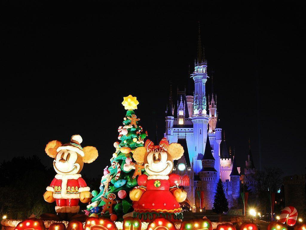 Wallpapers For > Disney Christmas Lights Backgrounds