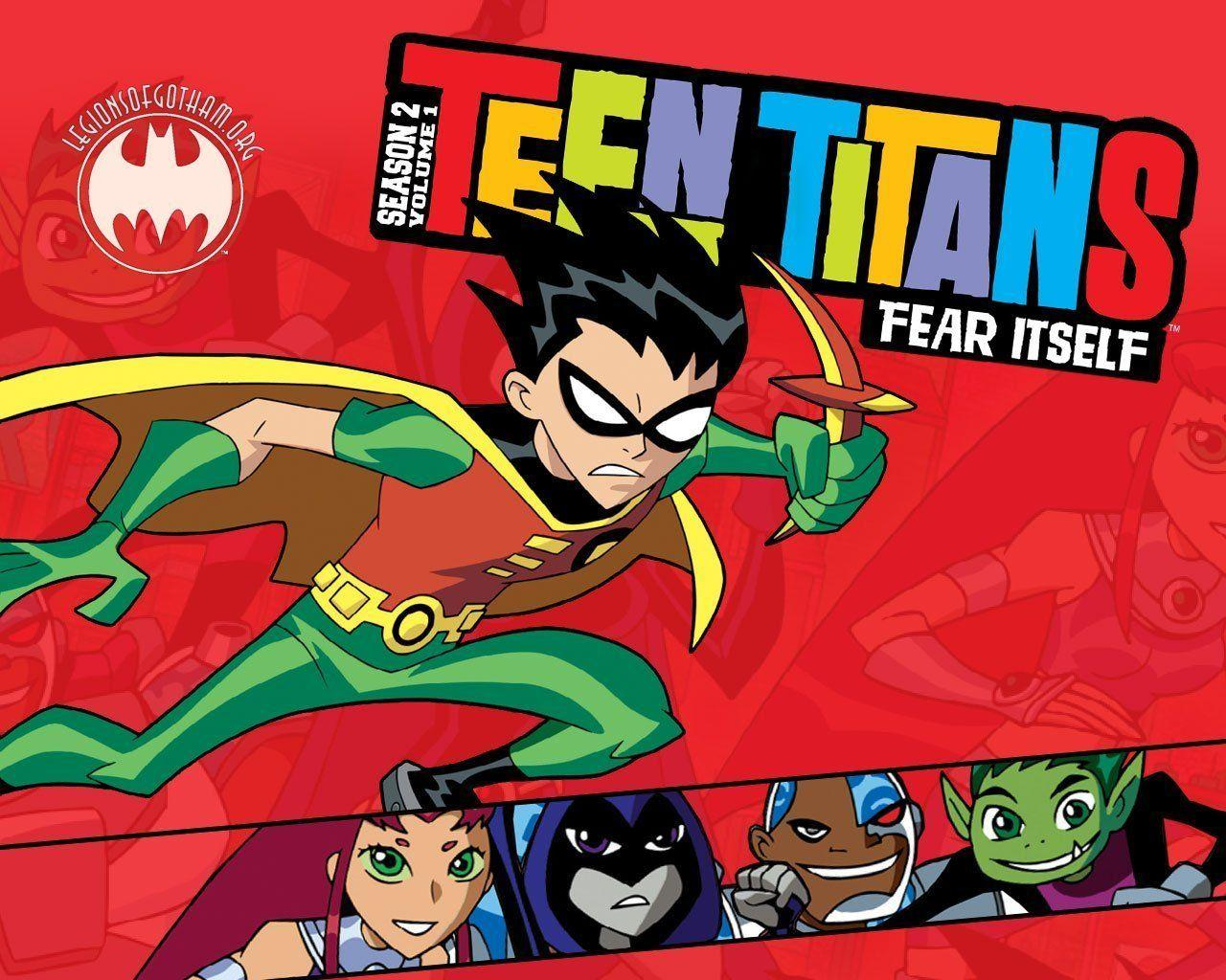 Teen Titans Wallpapers Wallpaper Cave