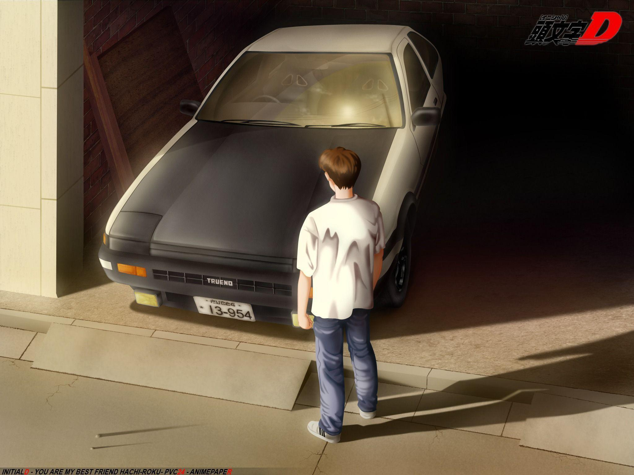 Pix For > Ae86 Initial D Wallpapers