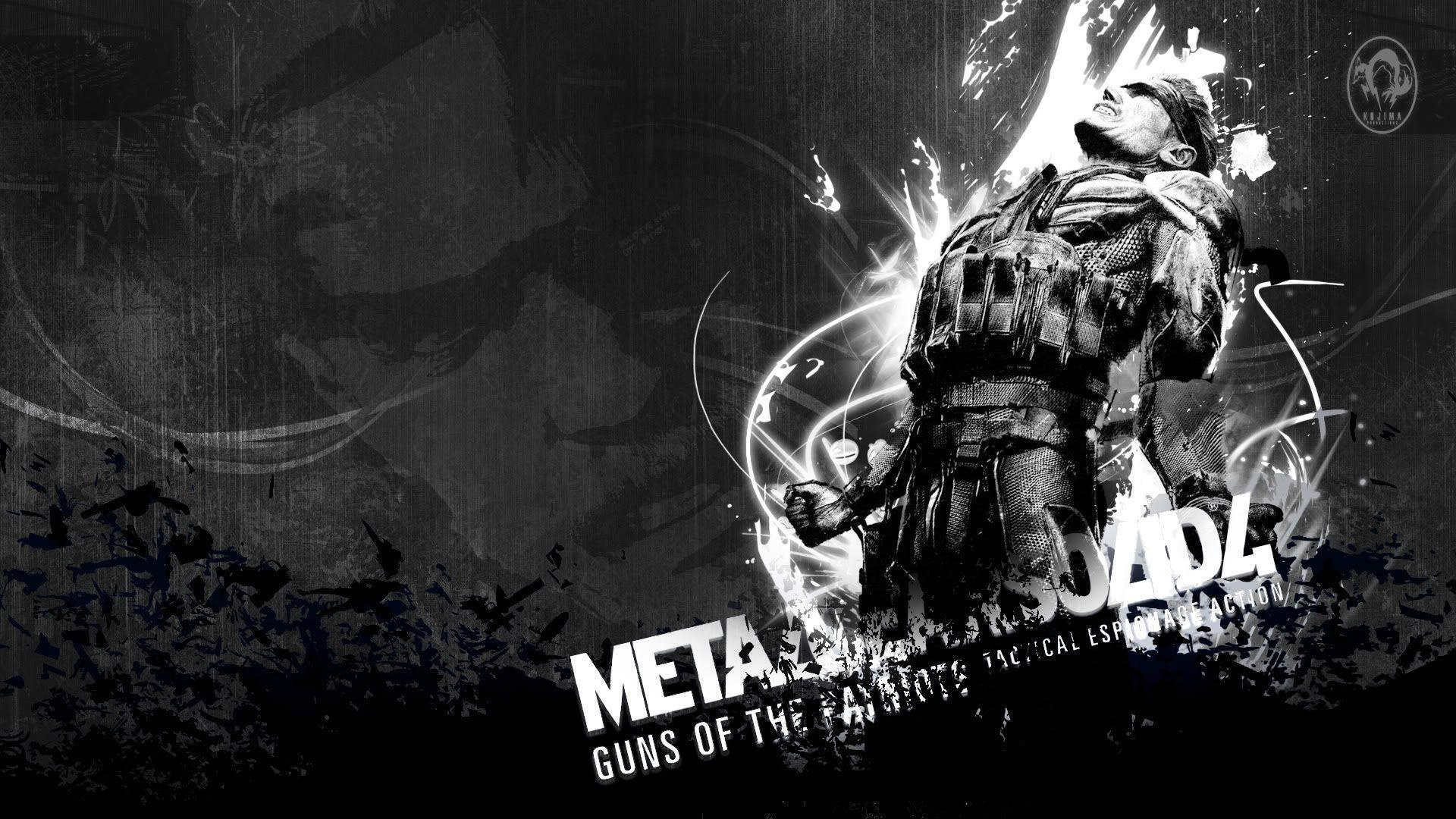 Metal Gear Solid Backgrounds Wallpaper Cave